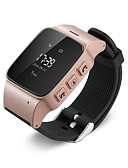 cheap Smartwatches-GPS Tracker Watch Bracelet for Elderly Mobile App Google Map Call Button Take-off alarm GSM GPRS Tracker
