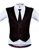 preiswerte Krawatten & Fliegen-WOSAWE Herrn / Damen Kurzarm Fahrradtrikot - Bule / schwarz Fahhrad Trikot / Radtrikot, Rasche Trocknung, Atmungsaktiv, Schweißableitend