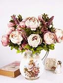 tanie Sukienki sylwestrowe-Sztuczne Kwiaty 1 Gałąź Fason europejski Piwonie Bukiety na stół
