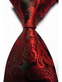 olcso Férfi nyakkendők és csokornyakkendők-Férfi Paisley Party / Munkahelyi / Alap - Nyakkendő