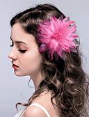 hesapli Parti Başlıkları-Kumaş Çiçek  -  Çiçekler / Başlık / Saç tokası 1pc Düğün / Özel Anlar Başlık