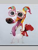 billige Trendy belter-mintura® lager håndmalte dyrevenner hund oljemaleri på lerret vegg kunst bilde hjem dekor whit ramme