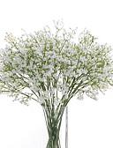 זול הינומות חתונה-פרחים מלאכותיים 6 ענף פרחי חתונה גיבסנית פרחים לשולחן