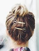 preiswerte Parykopfbedeckungen-Krystall / Stoff / Aleación Tiaras / Haarklammer / Haarspange mit 1 Hochzeit / Besondere Anlässe / Party / Abend Kopfschmuck / Haarnadel