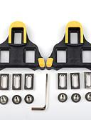 billige Sett med sykkeltrøyer og shorts/bukser-Kryssholt / XPT / SPD 6 Graders Flytende Antiskl, Kompatibel med SHIMANO, Holdbar Vei Sykkel Syntetisk Gul / Svart / Gul / Rød - 2 pcs