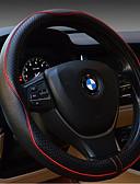 hesapli Elbiseler-araç direksiyon kapağı kabartmalı deri lüks araba setleri