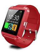 cheap Men's Watches-Men's Digital Smartwatch Touch Screen Alarm Calendar / date / day Remote Control / RC Pedometers Stopwatch Fitness Trackers Rubber Band