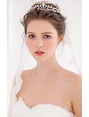billige Bryllupskjoler-Imitert Perle / Legering Tiaras / pannebånd / kranser med 1 Bryllup / Spesiell Leilighet / Avslappet Hodeplagg