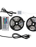 cheap Women's Nightwear-10m Light Sets 300 LEDs 5050 SMD RGB Remote Control / RC / Cuttable / Dimmable 85-265 V / IP65 / Waterproof / Linkable / Suitable for Vehicles / Self-adhesive