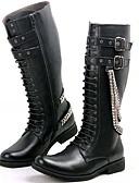 abordables Ropa interior para hombre exótica-Hombre Fashion Boots Materiales Personalizados Primavera / Otoño / Invierno Botas Negro / Fiesta y Noche