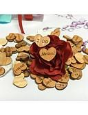 baratos Camisolas e Pijamas Femininos-Casamento / Noivado / Dia Dos Namorados Madeira Decorações do casamento Tema Praia / Tema Jardim / Tema Flores Primavera / Verão / Outono