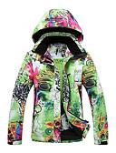 abordables Vestido de Patinaje Sobre Hielo-GQY® Mujer Chaqueta de Esquí Resistente al Viento, Mantiene abrigado, Listo para vestir Esquí / Deportes de Invierno Poliéster Chaqueta de Invierno Ropa de Esquí
