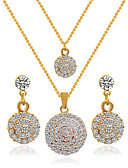 cheap Women's Shirts-Women's Jewelry Set - Include Bridal Jewelry Sets Golden For Wedding