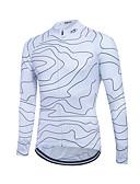 baratos Camisas Masculinas-Fastcute Homens / Mulheres Manga Longa Camisa para Ciclismo Moto Camisa / Roupas Para Esporte, Secagem Rápida, Respirável, Redutor de Suor