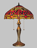 billige Blomsterpikekjoler-Tiffany Bordlampe Metall Vegglampe 110-120V / 220-240V
