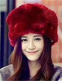 tanie Modne czapki i kapelusze-Damskie Aktywny Floppy Jendolity kolor / Czarny / Biały / Czerwony / Brązowy / Różowy