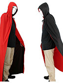 cheap Men's Shirts-Halloween Clothing  Masquerade Costumes A God Of Death Cloak Vampire Red And Black Double-sided Cloak 150cm
