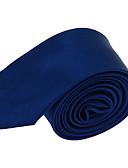 abordables Corbatas y Pajaritas para Hombre-Hombre Corbata - Vintage / Fiesta / Trabajo Un Color