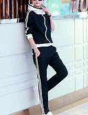 preiswerte Überbekleidung-Damen Active Set Einfarbig Baumwolle