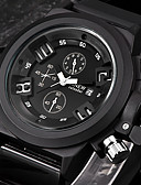 cheap Sport Watches-Men's Sport Watch / Wrist Watch Calendar / date / day / Cool Silicone Band Black / Stainless Steel / SSUO 377