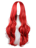 cheap Women's Nightwear-Synthetic Wig / Cosplay & Costume Wigs Wavy Synthetic Hair Red Wig Women's Long