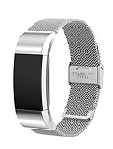 halpa Smartwatch-nauhat-Watch Band varten Fitbit Charge 2 Fitbit Milanolainen Ruostumaton teräs Rannehihna