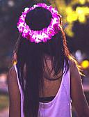 cheap Fashion Headpieces-Women's Girls' Floral Fabric Headband Flower