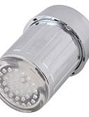 halpa Urheilukello-led-vesi-hana valo värikäs muuttuva hehku suihkupää keittiön kosketus aerators