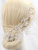 hesapli Gelinlikler-Kristal / İmitasyon İnci / alaşım  -  Çiçekler 1 Düğün / Özel Anlar / Dış mekan Başlık