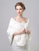 preiswerte Hochzeit Schals-Kunst-Pelz / Kashmirimitation Hochzeit / Party Wickeltücher für Frauen Mit Muster Schals