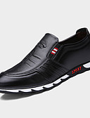 cheap Fashion Belts-Men's Novelty Shoes Nappa Leather Spring / Fall Oxfords Walking Shoes Slip Resistant Black / Brown