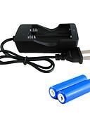 preiswerte Kleider-Akku-Ladegerät LED - 2000 lm 3 Beleuchtungsmodus inklusive Batterien Wiederaufladbar, Notfall, Super Leicht Camping / Wandern / Erkundungen, Für den täglichen Einsatz, Radsport