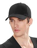 billige Hatte til mænd-Unisex Aktiv Baseball kasket Ensfarvet