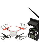 tanie Suknie wieczorowe-RC Dron WLtoys V686G 4 kalały Oś 6 5.8G Z kamerą HD 2.0MP Zdalnie sterowany quadrocopter FPV / Powrót Po  Naciśnięciu Jednego Przycisku / Failsafe Zdalnie Sterowany Quadrocopter / Aparatura Sterująca