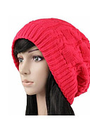 cheap Fashion Hats-Women's Active Beanie / Slouchy - Solid Colored