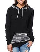 preiswerte Damen Kapuzenpullover & Sweatshirts-Damen Schick & Modern Kapuzenshirt - Druck, Blumen