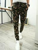 ieftine Pantaloni Bărbați si Pantaloni Scurți-Bărbați Activ Militar Zvelt Drept Activ Zvelt Pantaloni Sport Pantaloni Chinos Pantaloni camuflaj
