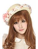 abordables Sombreros de  Moda-Mujer Sombrero de Paja - Vacaciones Retazos