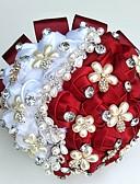 """ieftine Flori de Nuntă-Flori de Nuntă Buchete / Decor Nuntă Unic Ocazie specială / Party / Seara Margele / Ștras / Mătase  19.7""""(Approx.50cm)"""
