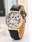 levne Módní hodinky-Dámské Křemenný Náramkové hodinky Cool / Hodinky na běžné nošení PU Kapela Vintage / Na běžné nošení / Módní Černá