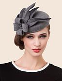 preiswerte Abendkleider-Wolle Strass Legierung Hüte Kopfstück klassischen weiblichen Stil