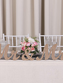 cheap Mother of the Bride Dresses-Wood Table Center Pieces - Non-personalized Placecard Holders 3 Winter Spring Summer Fall All Seasons