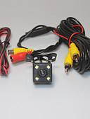 billige Brudekjoler-Parkeringshjælp-system bil bakkamera 4 ledet ccd hd ede vende vende universel backup kamera vandtæt nattesyn