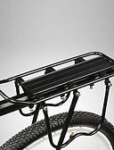 billige Brudesjaler-Bike Cargo Rack / Bakre rack Maks Lasting 25 kg Justerbare / Enkel å installere Aluminiumslegering Fjellsykkel / Vei Sykkel - Svart