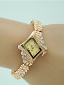 cheap Quartz Watches-Women's Bracelet Watch Imitation Diamond Alloy Band Charm / Fashion / Elegant Gold / One Year / Tianqiu 377