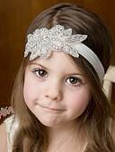 זול אביזרים לילדים-אביזרי שיער כל העונות רצועות ראש כותנה תחרה בנות בנים - לבן ורוד מסמיק בז' אפור