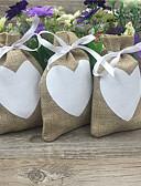 abordables Soportes para Regalo-Redondo Cuadrado De Forma Cúbica Yute Soporte para regalo  con Cintas Estampado Cajas de regalos Bolsos de regalos - 20