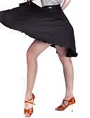 hesapli Caz Dansı Giysileri-Latin Dansı Alt Giyimler Kadın's Eğitim Kadife Włókno mleczne Tema / Baskı Doğal Etek