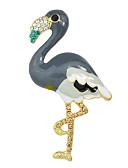 baratos Relógios de Quartzo-Mulheres Broches senhoras Fashion Broche Jóias Laranja Cinzento Azul Para Casual