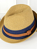 tanie Modne czapki i kapelusze-Dla obu płci Motyw świąteczny Bucket Hat Straw Hat Kapelusz Wielokolorowa